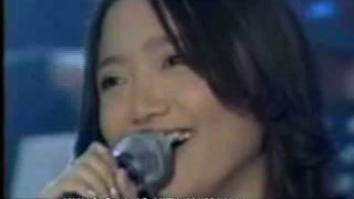 "Charice Sings Live-Popular ""Tagalog"" Love Song, Hanggang (Until) with lyrics + English subtitles"