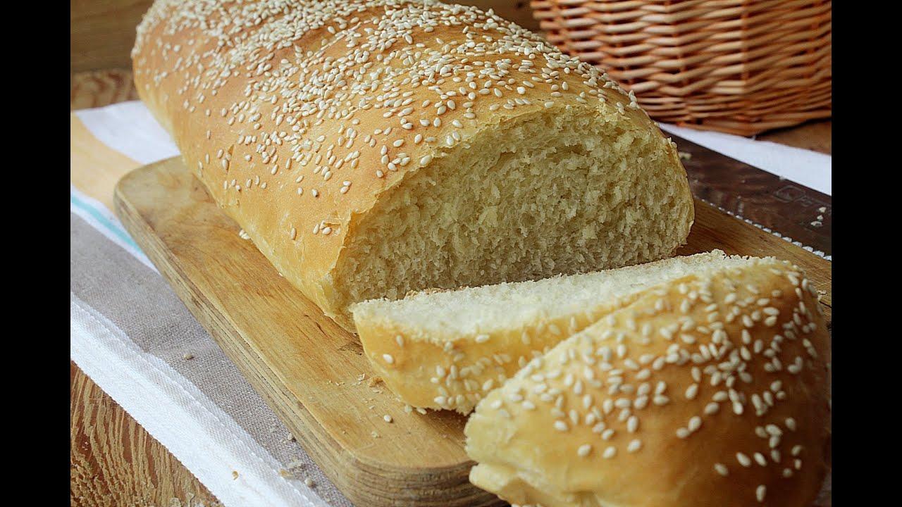 Рецепт как сделать домашний хлеб