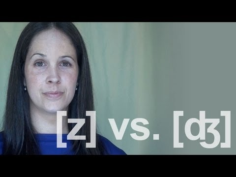 ZZ vs. JJ (buzz vs. budge) Sounds:  American English Pronunciation