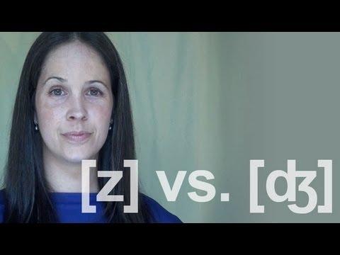 ZZ vs. JJ (buzz vs. budge) Sounds:  American English Pronunciation
