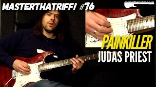 """Painkiller"" by Judas Priest - Guitar Lesson w/TAB - MasterThatRiff! 76"