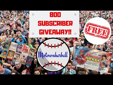 MOTOWNHARDBALL'S 800 SUBSCRIBER GIVEAWAY SELECTION (DID YOU WIN??)