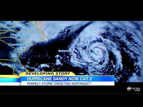 Hurricane Sandy 'Perfect Storm' East Coast Storm Track: Could Hurricane, Winter Storm Strike U.S.?