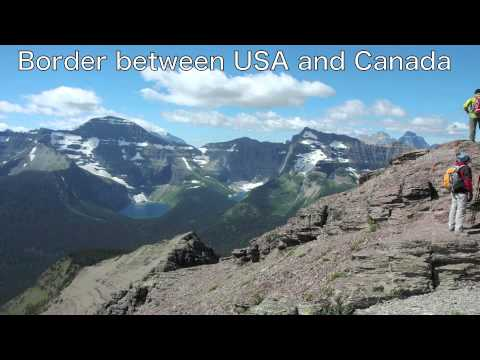 Carthew-Alderson Trail, Waterton Lakes National Park, Canada, AUG 2008 Video