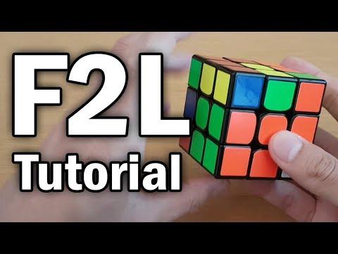 Learn F2L in 6 minutes (Full Intuitive F2L Tutorial)