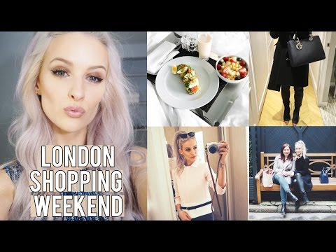 London Sleepovers and Shopping | Inthefrow