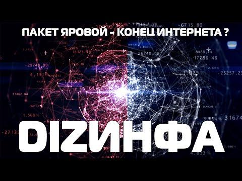 Пакет Яровой - Что это ? Конец интернета в России ? [DIZИНФА]