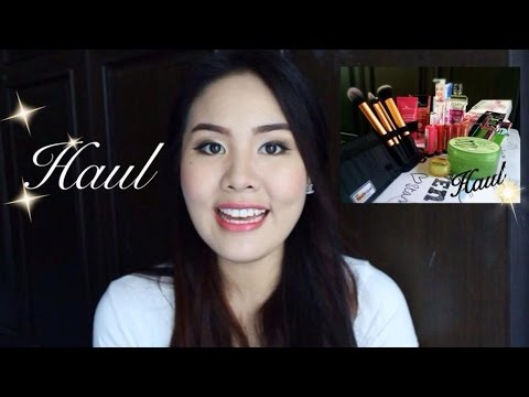 เห่อของต้องแชร์ Watson. Real Techniques. Gift and Etc - Haul  *stylechonneeh