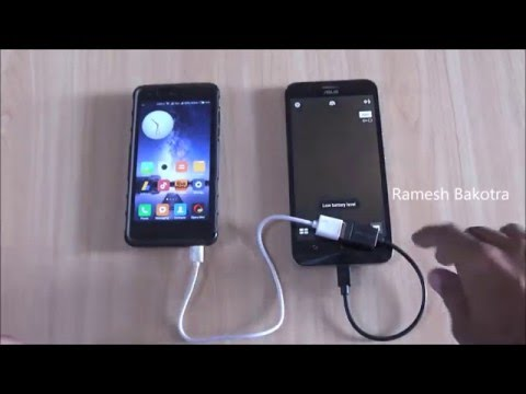 Asus Zenfone Max Use to 5000 mAh Power Bank