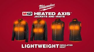 Milwaukee® M12™ Heated AXIS™ Jackets and Vests