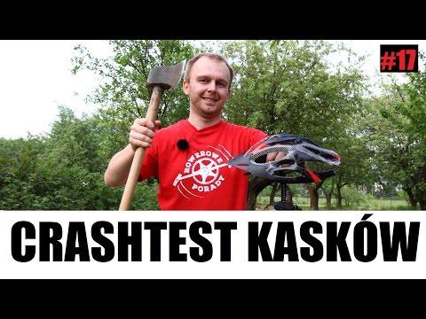 Crash Test Kasków Rowerowych // Rowerowe Porady