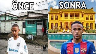 Aşırı Yoksul Bir Şekilde Büyürken, Bir Anda Ultra Zengin Olan 10 Futbolcu