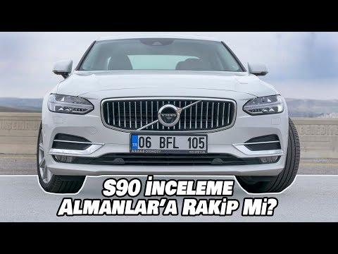 Volvo S90 D5 İnceleme   Almanlar'a Rakip Mi?