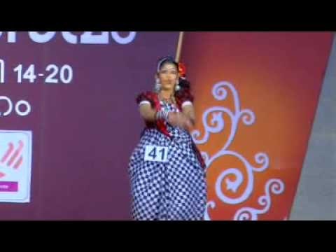 Kerala School Kalolsavam 2013...folk Dance...shoorppanakha... video