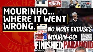 SACKED: Jose Mourinho: Where Did It All Go Wrong? | Manchester United News