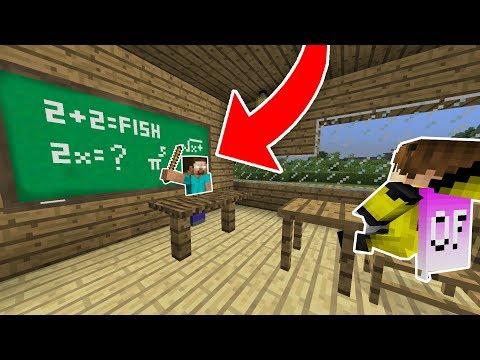 OKULLAR AÇILDI (PARODİ) - Minecraft