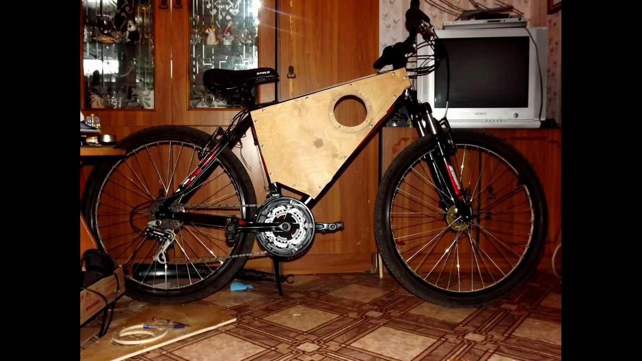 Как сделать колонки своими руками на велосипед 38
