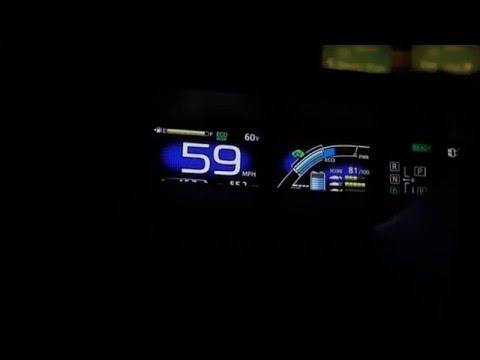 2016 Prius 4th Gen Ev Mode On Freeway 70 Mpgs