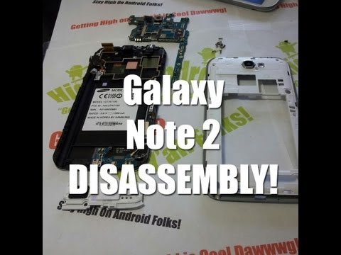 Galaxy Note 2 Disassembly & Assembly - Drop Test Repair