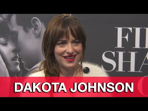 Fifty Shades of Grey Dakota Johnson Interview - New York Fan Premiere