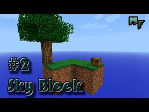 Minecraft Sky Block #2 [Первые мобы] / Minecraft Let's Play