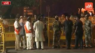 Visuals from Atal Bihari Vajpayee's Delhi Home   High Security   Leaders Reach to House