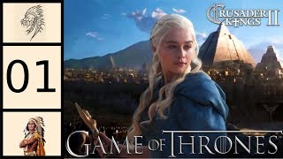 CK2 - Game of Thrones Mod - Daenerys Targaryen #1 - Mother of Dragons