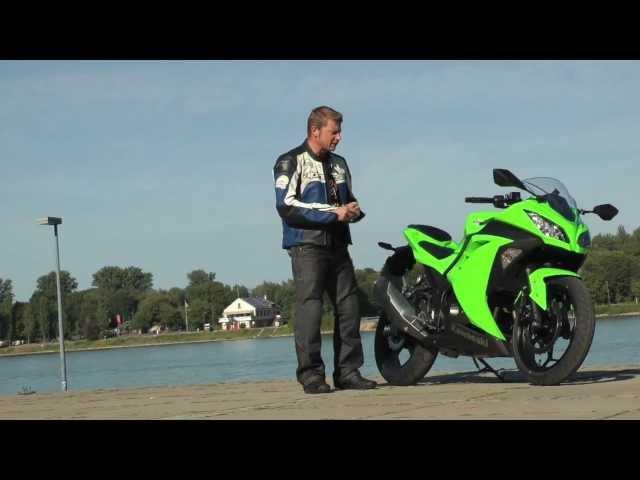 Vid�o Essai Kawasaki Ninja 300 2013 : Une petite cylindr�e pas triste !