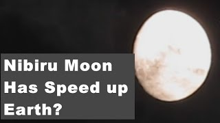 BREAKING: Why NASA Hide That  Nibiru Moon Has Speedup Earth Rotation?