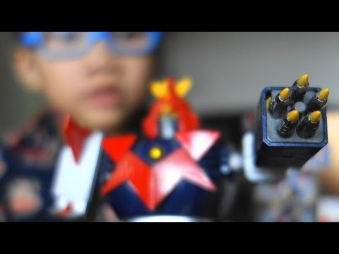 Voltes V Toy Robot Collectible Kid Review