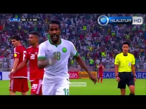 جميع اهداف المنتخب السعودي في تصفيات كاس العالم 2018