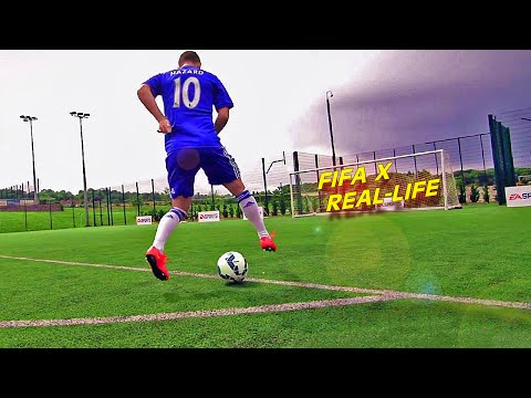 Insane FIFA 15 Skill Moves & Tricks in REAL-LIFE (PART 2)