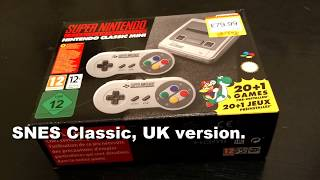 SNES Classic Unbox/Review - In stock again! - PAL Version