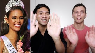 Catriona Gray BottomLine Interview PART 1 | Reaction
