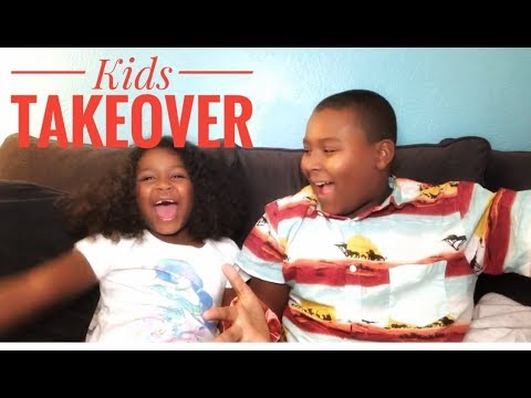 KIDS TAKEOVER DAY!!!