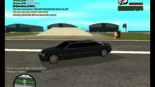 Gta SA Mercedes CL65 and Hummer H2 limo mods