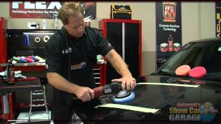 How to use the FLEX 3401 Dual Action Polisher