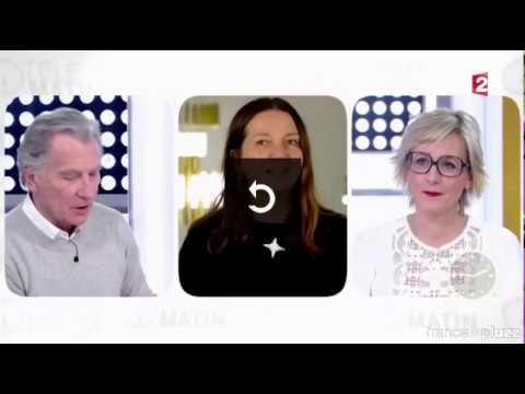 Sylvie Maréchal lights Télématin Tv Show