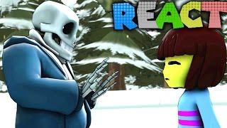 LUIGIKID REACTS TO: IF UNDERTALE WAS REALISTIC (ANIMATION) by SmashBits Animations