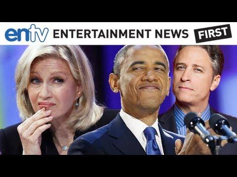 Obama Wins 2012 - Best Of, Drunk Diane Sawyer, The Daily Show & Flaghead: ENTV
