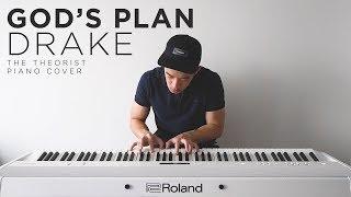 Download Lagu Drake - God's Plan | The Theorist Piano Cover Gratis STAFABAND