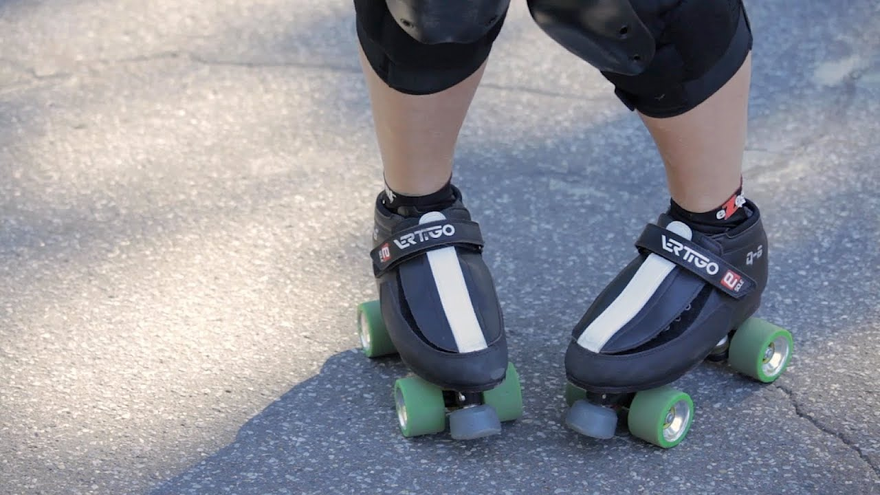 How To Roller Skate How To Stop On Roller Skates