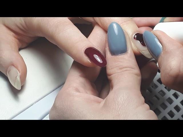 #Маникюр к 14 февраля#Объёмные сердечки на ногтях# Быстрый дизайн....