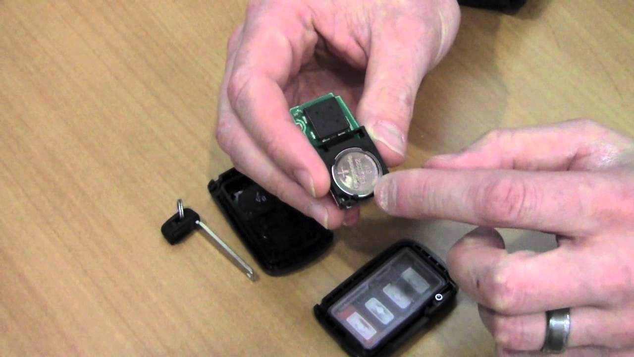 2012 Toyota Camry Replace Smart Key Battery How To