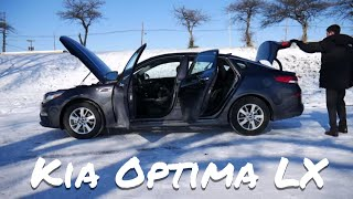 2019 Kia Optima LX   detailed car review and test drive