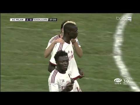 AC Milan - Chivas   Balotelli 2-0