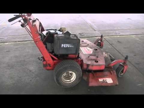 Ferris with Briggs & Stratton 18HP V-Twin OHV