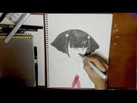 Speed Sketch 2 - Goth Lolita
