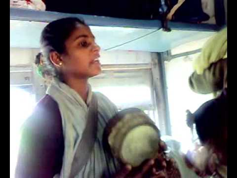India Got Talent- Girl Singing On Local Train video