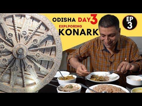 Bhubaneswar to Konark  EP 3    Chhena Jhili, Sun Temple, Odia food & more